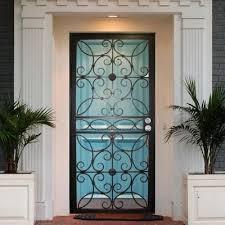 Astounding Iron Security Doors Home Depot 82 In Home Decoration