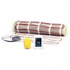 radiant floor heating kits schluter nuheat suntouch