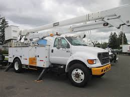 100 Ford Bucket Truck 2002 F750 Boom For Sale 74447 Miles Boring