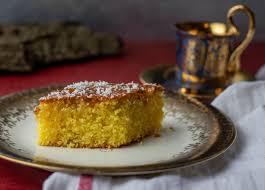 revani grieschischer grießkuchen mit orange