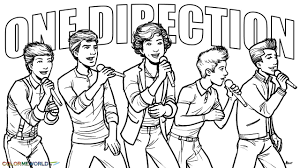 Coloring Pages For One Direction Harry Styles