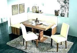 Corner Dining Room Table Breakfast Nook Enchanting Set