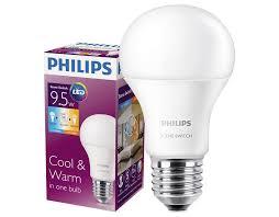 led bulb philips switch 9 5w mber lighting