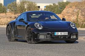 New 2019 Porsche 911 Turbo spied for the first time