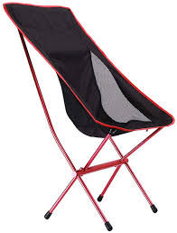 Outdoor Folding Camping Chairs,High Back Ergonomic Portable ...