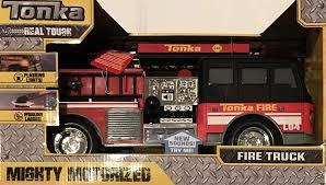 100 Tonka Mighty Motorized Fire Truck Amazoncom FIRE Vehicle W Flashing