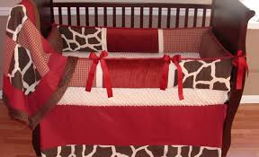 Navy And Coral Crib Bedding by Cribs Entertain Red And Leopard Print Crib Bedding Amusing Navy