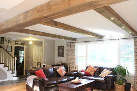 100 Rustic Ceiling Beams Fascinating Home Dining Ideas Fake Exposed