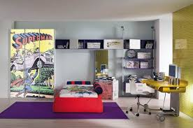 cool boys bedroom theme with superman ideas