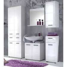 badezimmer hochschrank skin hochglanz weiß 60 x 182 cm 4 türig