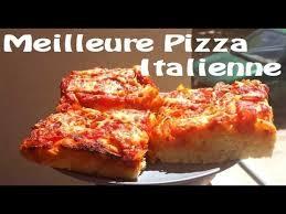 recette de la vraie pizza italienne de mémé