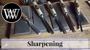how to sharpen a v tool or carving gouge hand tool woodworking