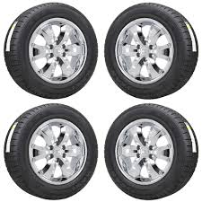 100 Chrome Truck Wheels 20 CHEVROLET SILVERADO 1500 TRUCK CHROME WHEELS RIM TIRES FACTORY