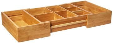 Desk Drawer Organizer Amazon by Amazon Com Lipper International 8192 Bamboo Expandable 20 Inch