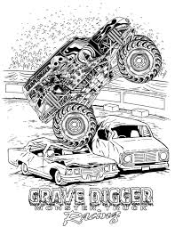 Coloring Monster Truck Coloring Picture Page Free Printable For ... The Best Grave Digger Monster Truck Coloring Page Printable With Blaze Pages Free Print Blue Thunder Toddler Fresh New Pdf Fascating Online Bestappsforkids Stunning For Kids Color On Unique Trucks Loringsuitecom Easy Batman Simplified Monsterloringpagevitltcomjpg Getcoloringpagescom Serious General