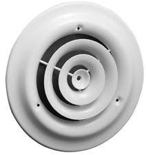 Ceiling Ac Vent Deflectors by Round Ceiling Diffuser Heating Cooling U0026 Air Ebay