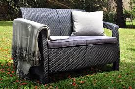 Patio Furniture Ebay Australia by Amazon Com Keter Corfu Love Seat All Weather Outdoor Patio