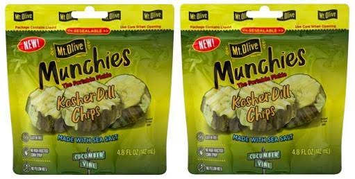Mt. Olive Munchies The Portable Pickle Kosher Dill Chips