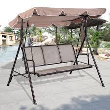 Beautiful Metal Swing Frame Outdoor Furniture Part 4