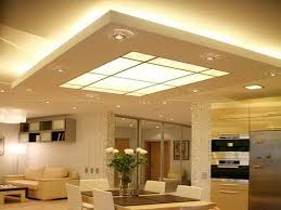 Contemporary Pop Ceiling Designs For Living Room With Dining Combo