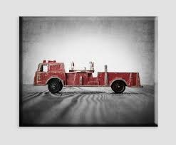 100 Fire Truck Wall Art Amazoncom Vintage On Canvas Engine Boys Room