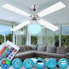 deckenventilatoren led decken ventilator wohnzimmer dimmer