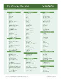 Wedding Planning Checklist For Excel