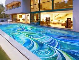 Waterline Pool Tile Designs by Luxury Pool Tile Thesouvlakihouse Com