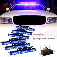 XYIVYG 54 LED Emergency Vehicle Strobe Lights Bars Warning Deck Dash ...