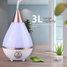 details zu 3l luftbefeuchter ultraschall duftöl aroma diffuser led humidifier schlafzimmer