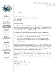 100 Alaska Trucking Association Appendix B Letters Of Support