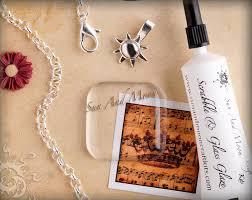 glass tile pendant kit easily make glass tile jewelry sun and moon