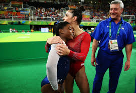 Simone Biles Floor Routine Score by Simone Biles Takes Gold And Aly Raisman Silver In Gymnastics All