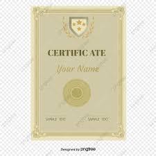 Vector Patrón Europeo Certificado Antecedentes Carta De