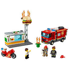 100 Fire Truck Accessories Amazoncom LEGO City Burger Bar Rescue Toy Burger Bar
