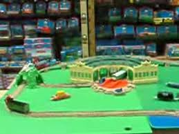 Tidmouth Sheds Deluxe Set by Thomas At Tidmouth Sheds New Trackmaster Youtube