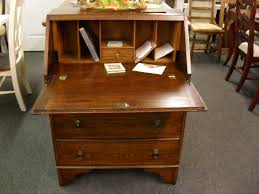 furniture secretary drop front desk with distressed secretary