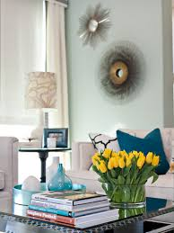 Flower For Decoration On Living Room Yellow R