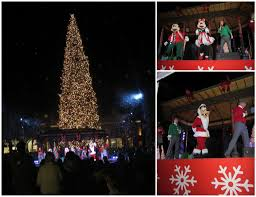 Tree Lighting Ceremony At Fashion Island With Mickey Mouse