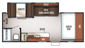Travel Trailer Floor Plans With Bunk Beds by New Rvs For Sale New Trailers Campers Motorhomes New Rv Sales P 153