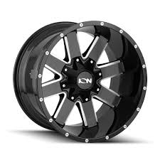 100 20 Inch Truck Rims Ion 141 X12 8x16518x658x170 44mm BlackMilled