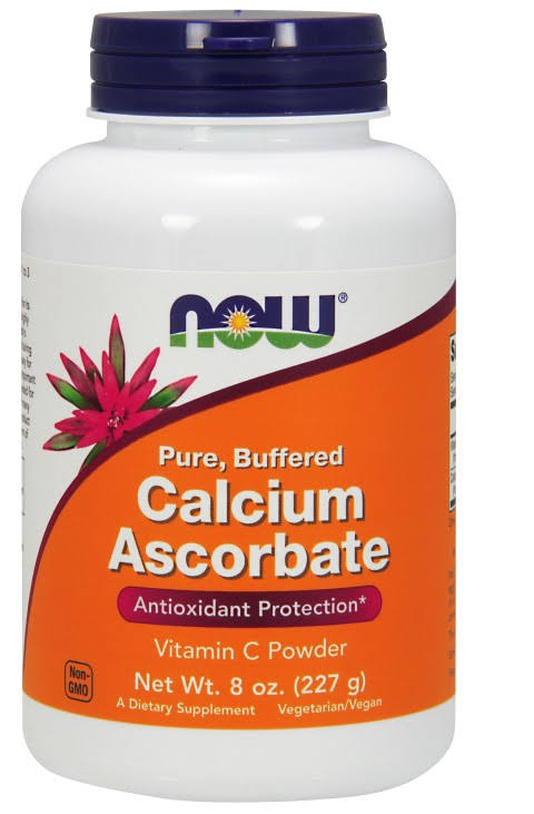 Now Foods Calcium Ascorbate 100 Pure Buffered Vitamin - 8oz