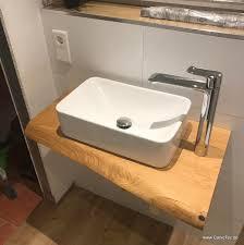 waschtisch holz badezimmer einrichtung waschtisch holz