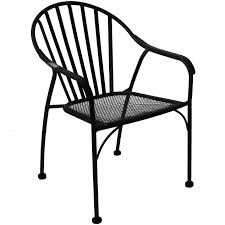 100 Black Wrought Iron Chairs Outdoor Slat Patio Chair At Home