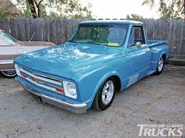 Customizing 1967-1972 Chevrolet & GMC Trucks - Hot Rod Network 1967 Chevrolet Ck 10 For Sale On Classiccarscom Super Slick 6770 I Could Drive This Every Day Vintage Whips Sale Pending Chevelle Ss 427 Convertible Ross Chevrolet C10 Gateway Classic Cars 1971 4x4 Pickup Sale Gm Trucks 707172 Truck For Old Chevy Photos 69 70 Chevy Stepside Pickup Truck Chopped Bagged 20s Beautiful Stepside Sale396fully Restored Hemmings Motor News 6772 Longbed Southern Kentucky Classics Gmc History 1963 Custom Gasoline Sparks Pinterest