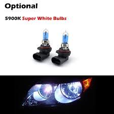 07 ford taurus replacement headlights black