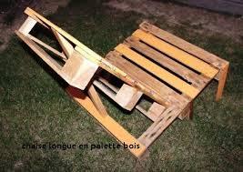 chaise longue palette 20 chaise longue en palette bois tebzzone