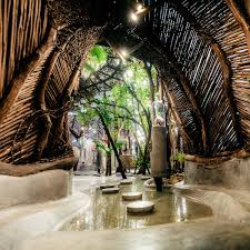 New Futuristic Boutique ZAK IK At Azulik Hotel Tulum Set Design