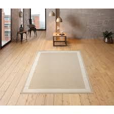 home affaire teppich taneja rechteckig 10 mm höhe naturbelassenen wolle wohnzimmer