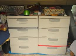Sterilite 4 Drawer Cabinet Walmart by Using Sterilite 4 Drawer Units For Storage Cheap Rv Living Com